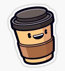 Pegatina ¡Hora de cafe!