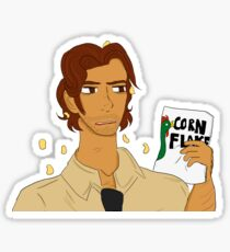 cornflake bigby wolf Sticker