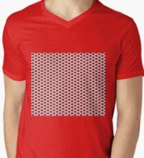 The Strawberry Thieves band logo pattern Men's V-Neck T-Shirt