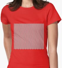 The Strawberry Thieves band logo pattern Women's Fitted T-Shirt