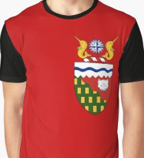 Coat of arms of Northwest Territories, Canada Graphic T-Shirt