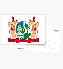 Coat of arms of Suriname Postcards