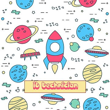 IT TECHNICIAN by Emeryhos