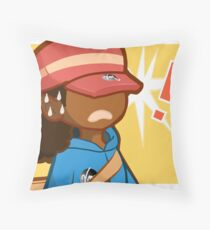 Magikarp Jump Disaster  Throw Pillow