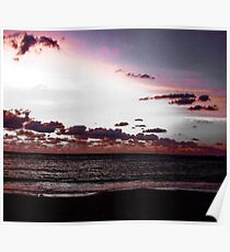The Bohemian Pink Sky  Poster