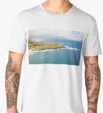 Beach Seascape Hawaii Men's Premium T-Shirt