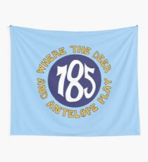 785 Area Code Home on the Range Wall Tapestry