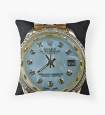 Rolex Throw Pillow