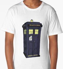 bigger on the inside. Long T-Shirt