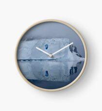 Antarctic Reflections Clock