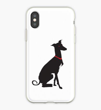 greyhound (vector) iPhone Case
