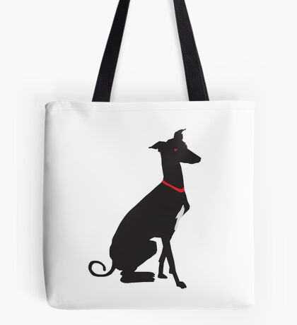 greyhound (vector) Tote Bag