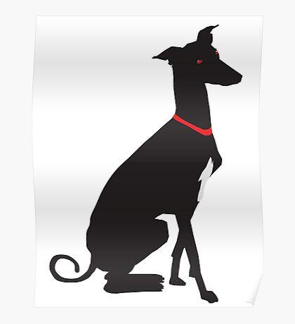 greyhound (vector) Poster