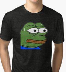 Rare Pepe monkaS  Tri-blend T-Shirt