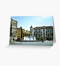 Plaza Zorrilla Greeting Card