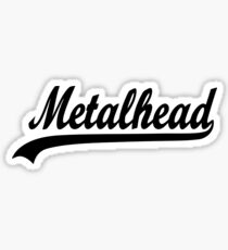 METAL HEAD Sticker