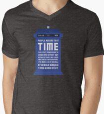Timey Wimey Men's V-Neck T-Shirt