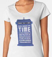 Timey Wimey Women's Premium T-Shirt