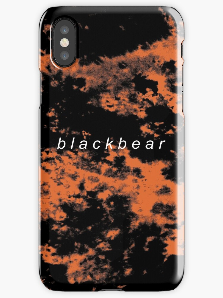 redbubble iphone cases quot blackbear tie dye quot iphone cases amp covers by owlify 12847