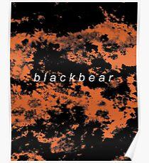 blackbear tie dye Poster