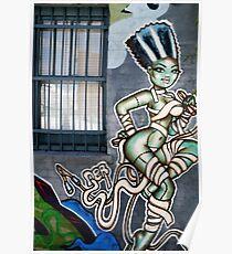 fitzroy grafitti - 2009 Poster