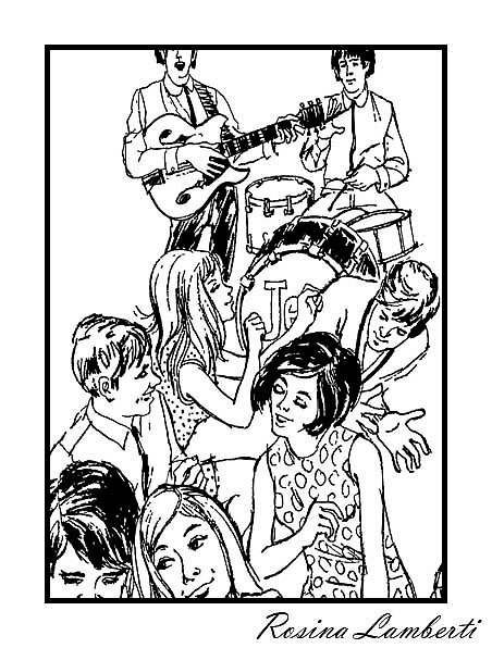 1970  dance party by rosina lamberti