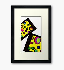 Candy Psychedelia Framed Print