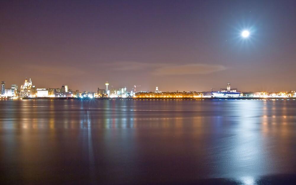Liverpool Skyline by KJPImages