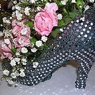 Shoe and Flowers Arrangement by lezvee