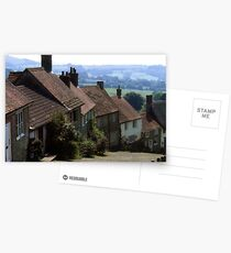 Gold Hill, Shaftsbury Dorset Postcards