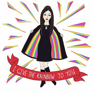 The Love Witch: I Give The Rainbow To You by laceandwhimsyxo