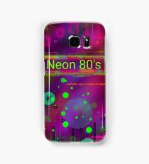 Neon 80's Samsung Galaxy Case/Skin