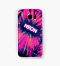 Neon Vortex Samsung Galaxy Case/Skin