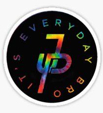Rainbow It's Everyday Bro Sticker