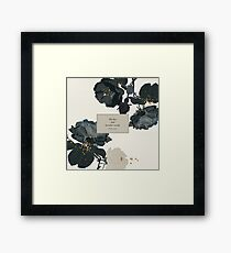 We live and breathe words. - Will Herondale. The Infernal Devices. Framed Print