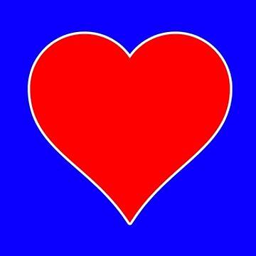 I Heart (Love) Soccer Sticker by BillyBoomstick