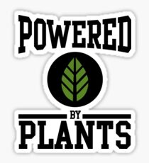 Powered by Plants Sticker
