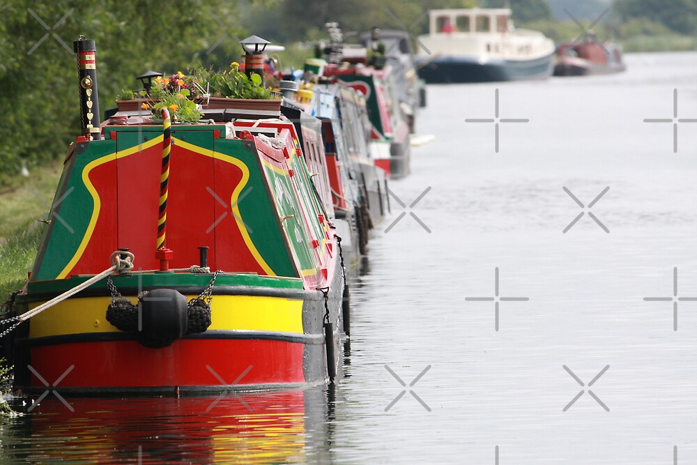 Canal Boats by Josh Brown