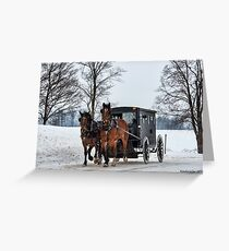 Keeping With Tradition Greeting Card