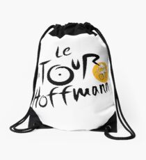 Tour de Hoffmann Drawstring Bag