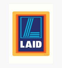LAID Art Print
