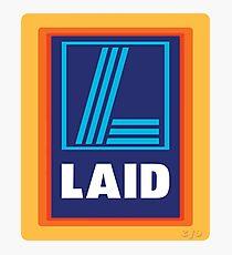 LAID Photographic Print