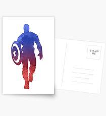 Hero Inspired Silhouette Postcards