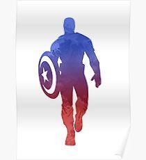 Hero Inspired Silhouette Poster
