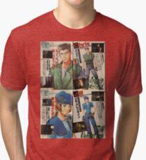 Resident Evil - Chris & Jill Tri-blend T-Shirt