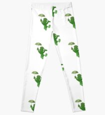 Cricket Inspired Silhouette Leggings