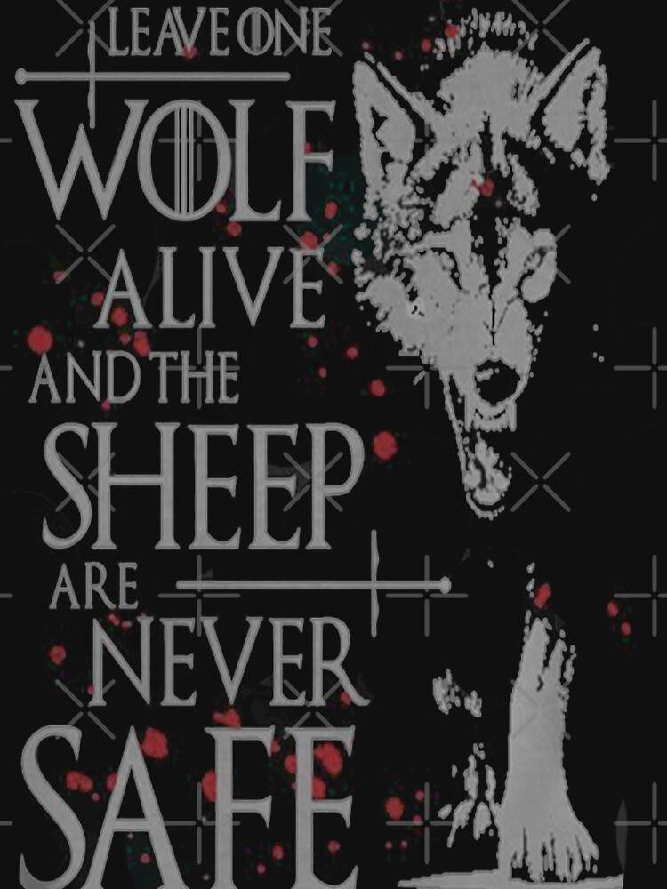 Throne-Wolft-shirt bestes Zitat von kimoufaster