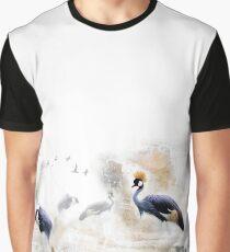 Cranes Graphic T-Shirt