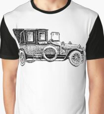 Old Vintage Antique Car Drawing #5 Graphic T-Shirt