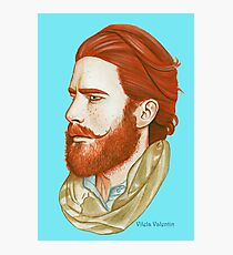Ginger Man Photographic Print